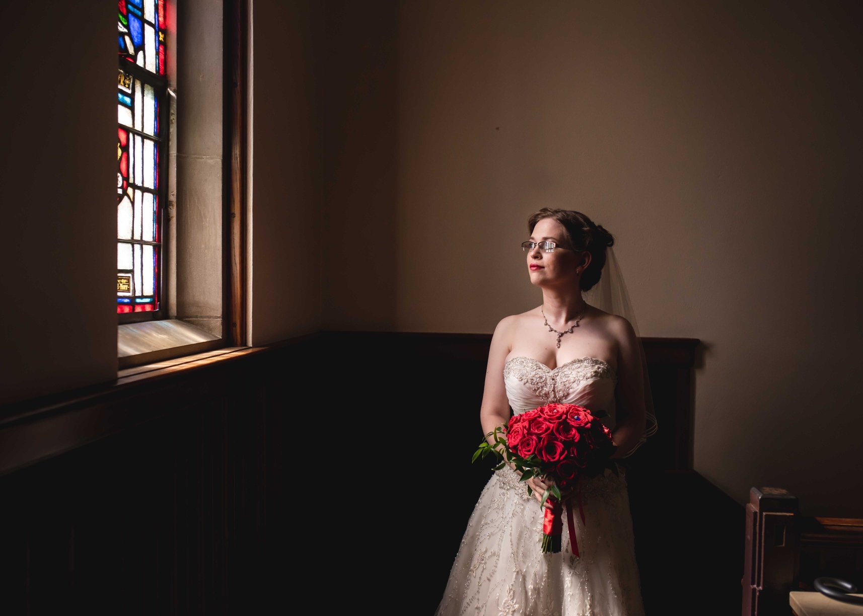 Jon and Caitlin's Cathedral Wedding